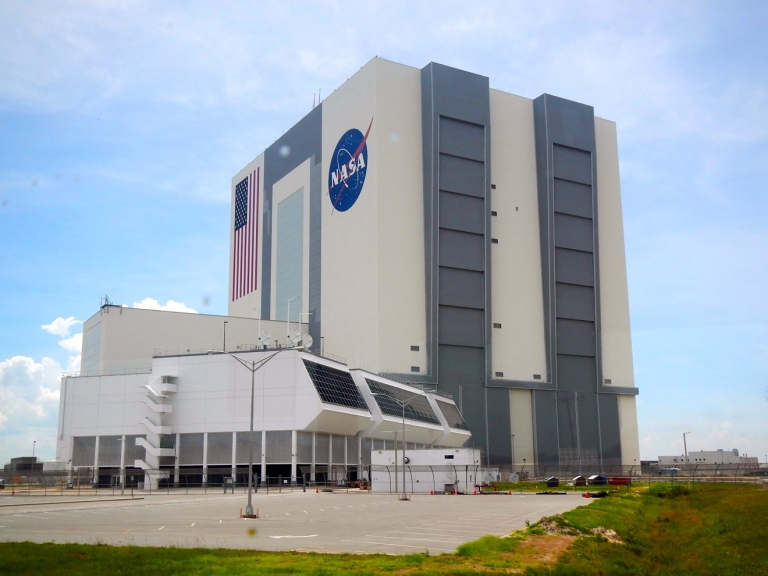 Kennedy Space Center NASA Vehicle Assembly Building